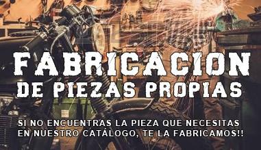 FABRICACION PIEZAS PROPIAS CUSTOM