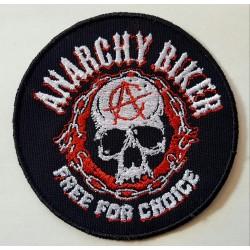 Parche Anarchy Biker