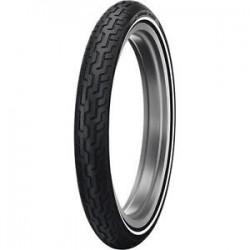 Neumático Dunlop D402F 80/90-21 54H Banda Blanca