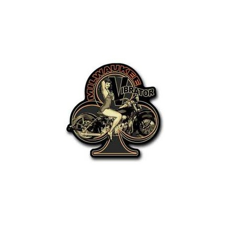 Parche knucklehead Pin Up