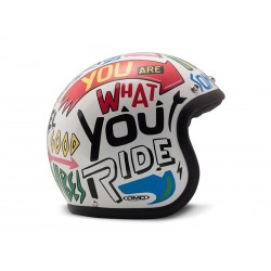Casco Jet DMD Words