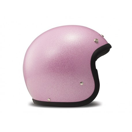 Casco Jet DMD Glitter Pink