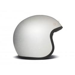Casco Jet DMD Glitter Silver