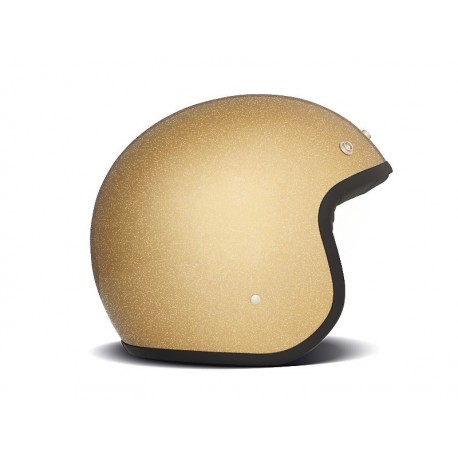 Casco Jet DMD Glitter Gold