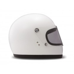 Casco Integral Racer White