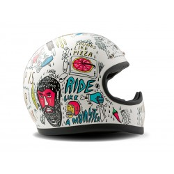 Casco Integral Racer Tribal