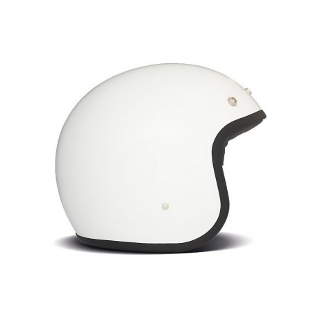 Casco Jet DMD Solid White