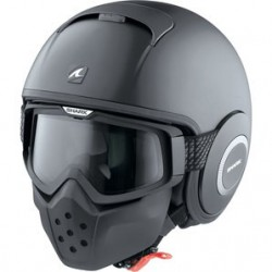 Casco Jet Shark Raw / Drak