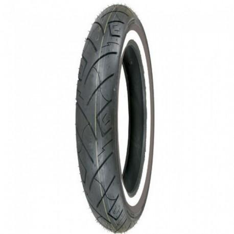 Neumático Delantero Shinko 100/90-B19 61H SR-777 Banda Blanca