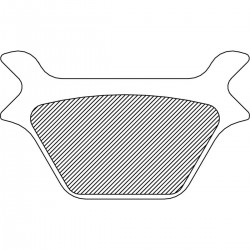 Pastillas de Freno Trasero Sinterizado Dyna/Softail/Sportster