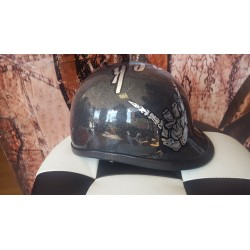 "Casco Biker Jockey ""Rock & Roll"""