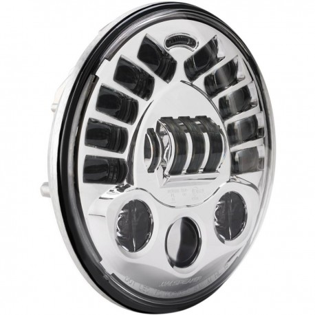 """Focos delanteros adaptativos LED 8790 de 18 CM (7 """")"""