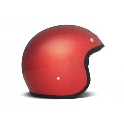Casco Jet DMD Glitter Red