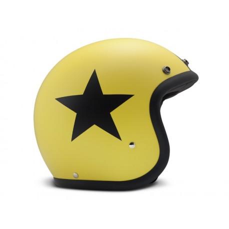Casco Jet DMD Star Yellow