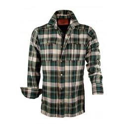Camisa Antiabrasión-Hidrófoba estilo leñador para Motorista