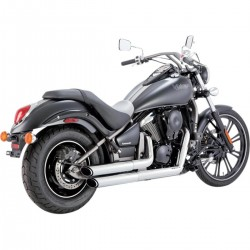 Escapes Vance & Hines Twin Slash para Kawasaki Vulcan VN900