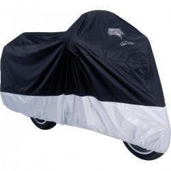 Cubierta para Moto MC904 Black Silver