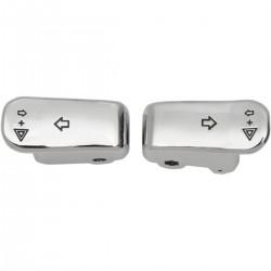 Interruptores Cromados Intermitencia de Tamaño Extendido HD 96-13