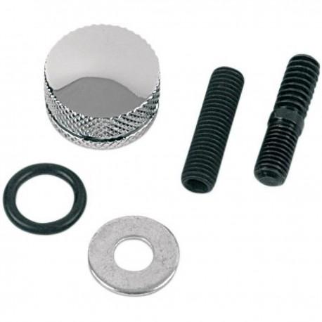 Tornillo de Fijacion Asiento Aluminio Cromada HD