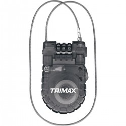 Candado Trimax Cable-Lock Combinación Retráctil de 3 Dígitos 3 '
