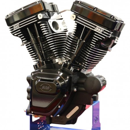 Motor S&S Black Edition T124LC Series Long Blocks 07-16 Touring