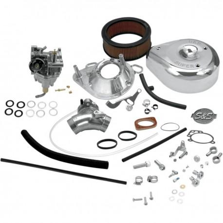 Kit Carburador S&S Super E para HD Evo Big Twin
