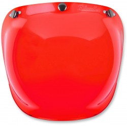 PANTALLA BILTWELL BUBBLE RED ANTIFOG