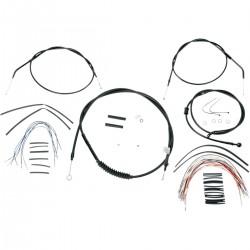 "Kit de Cables +12"" Burly para HD XL 07-13"