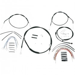 "Kit de Cables +16"" Burly para HD XL 07-13"