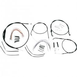 "Kit de Cables +16"" Burly para HD XL 04-06"
