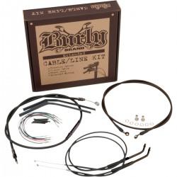 "Kit de Cables +12"" Burly para HD XL 97-03"