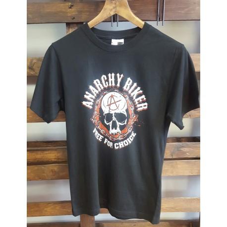 Camiseta manga corta hombre Anarchy Biker