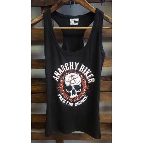 Camiseta tirantes mujer Anarchy Biker