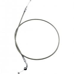 "Cable de Acelerador (Tiro) Acero Inoxidable Honda VTX1300 03-09 +6"""