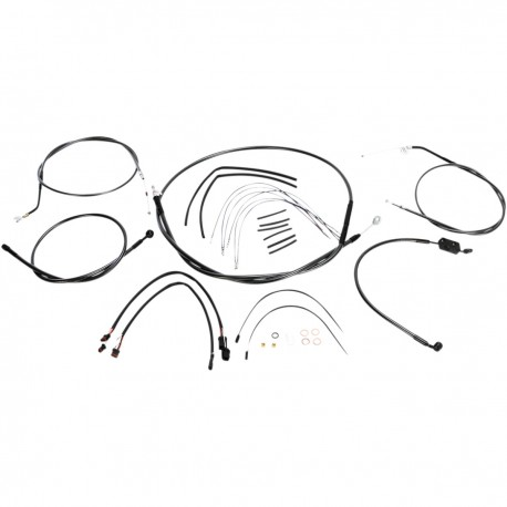 "Kit de Cables 14"" - 16"" Magnum Black Pearl para HD XL 14-20 con ABS"